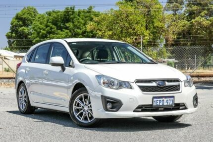 2014 Subaru Impreza G4 MY14 2.0i Lineartronic AWD White 6 Speed Constant Variable Hatchback Gosnells Gosnells Area Preview