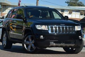 2011 Jeep Grand Cherokee WK Overland (4x4) Black 5 Speed Automatic Wagon Waitara Hornsby Area Preview