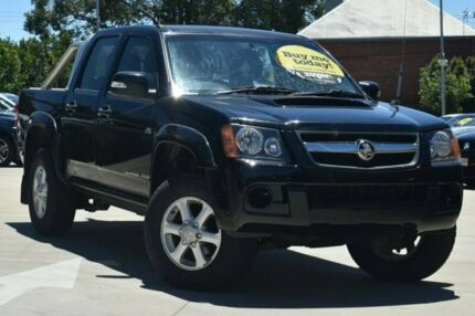 2010 Holden Colorado RC MY11 LX-R Crew Cab Black 5 Speed Manual Utility