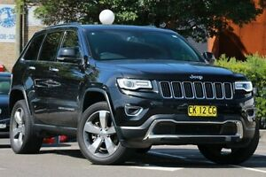 2014 Jeep Grand Cherokee WK MY14 Limited (4x4) Black 8 Speed Automatic Wagon Dee Why Manly Area Preview