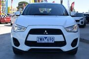2013 Mitsubishi ASX XB MY13 2WD White 6 Speed Constant Variable Wagon Hoppers Crossing Wyndham Area Preview