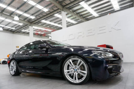 2011 BMW 650i F13 MY12 Black 8 Speed Automatic Coupe