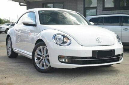 2012 Volkswagen Beetle 1L MY13 Coupe DSG White 7 Speed Sports Automatic Dual Clutch Liftback Hillcrest Port Adelaide Area Preview