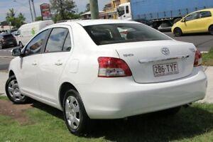 2014 Toyota Yaris NCP93R YRS White 4 Speed Automatic Sedan
