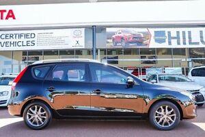 2010 Hyundai i30 FD MY11 SLX cw Wagon Black 4 Speed Automatic Wagon Wangara Wanneroo Area Preview