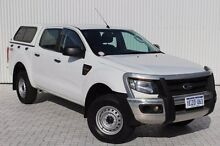 2013 Ford Ranger PX XL 4x2 White 6 Speed Manual Cab Chassis Embleton Bayswater Area Preview
