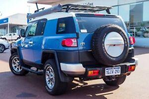 2012 Toyota FJ Cruiser GSJ15R Military Blue 5 Speed Automatic Wagon