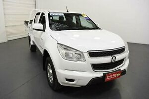 2012 Holden Colorado RG LX (4x4) White 6 Speed Automatic Crew C/Chas Moorabbin Kingston Area Preview