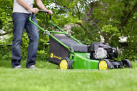 LAWN MOWING & CLEANUP - BOOK FOR SUMMER NOW!