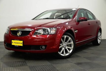 2010 Holden Calais VE MY10 V Red 6 Speed Sports Automatic Sedan
