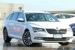 2016 Skoda Superb NP MY16 162TSI DSG White 6 Speed Sports Automatic Dual Clutch Wagon Nunawading Whitehorse Area Preview