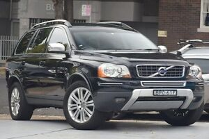 2010 Volvo XC90 MY10 D5 Executive Black 6 Speed Automatic Geartronic Wagon Mosman Mosman Area Preview