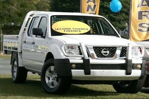 2011 Nissan Navara D40 RX King Cab White 6 Speed Manual Cab Chassis Kedron Brisbane North East Preview