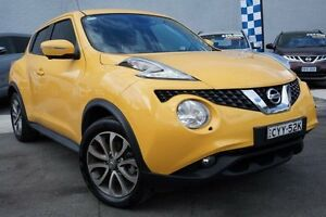 2015 Nissan Juke F15 Series 2 Ti-S X-tronic AWD Yellow 1 Speed Constant Variable Hatchback Pearce Woden Valley Preview