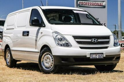 2010 Hyundai iLOAD TQ-V White 5 Speed Sports Automatic Van