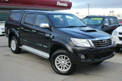 2013 Toyota Hilux KUN26R MY12 SR5 Double Cab Ink 4 Speed Automatic Utility Wangara Wanneroo Area Preview