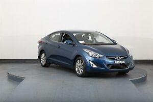 2014 Hyundai Elantra MD Series 2 (MD3) Trophy Blue 6 Speed Automatic Sedan Smithfield Parramatta Area Preview