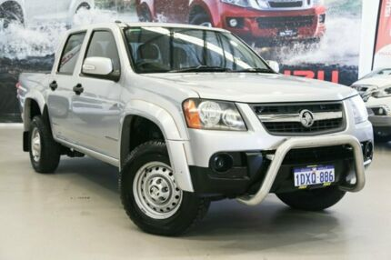 2011 Holden Colorado RC MY11 LX (4x2) Silver 5 Speed Manual Crew Cab Pickup Rockingham Rockingham Area Preview