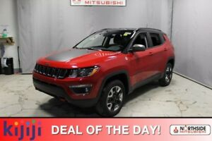 2018 Jeep Compass 4WD TRAILHAWK Leather,  Heated Seats,  Back-up