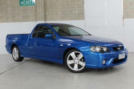 2006 Ford Falcon BF Mk II XR6 Blue Sports Automatic Utility
