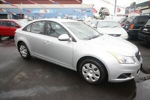 2011 Holden Cruze JH Series II MY12 CD Silver 6 Speed Sports Automatic Sedan Kingsville Maribyrnong Area Preview