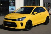 2017 Kia Rio YB MY17 S Yellow 4 Speed Sports Automatic Hatchback Run-o-waters Goulburn City Preview