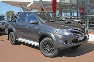 2015 Toyota Hilux KUN26R MY14 SR5 Double Cab Graphite 5 Speed Manual Utility Myaree Melville Area Preview