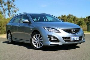 2012 Mazda 6 GH1052 MY12 Touring Blue 5 Speed Sports Automatic Wagon Wilson Canning Area Preview