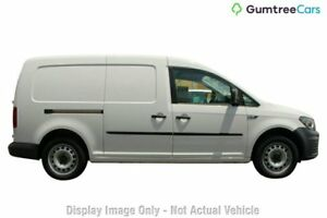 2017 Volkswagen Caddy 2KN MY17.5 TSI220 Maxi DSG White 7 Speed Sports Automatic Dual Clutch Van