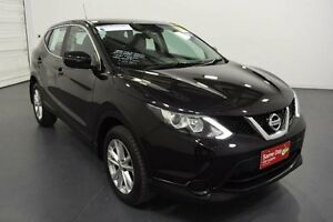 2015 Nissan Qashqai J11 ST (4x2) Burgundy Continuous Variable Wagon Moorabbin Kingston Area Preview