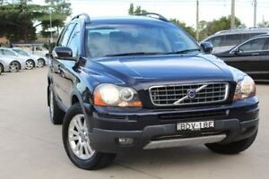 2007 Volvo XC90 MY07 D5 Blue 6 Speed Automatic Geartronic Wagon Lansvale Liverpool Area Preview