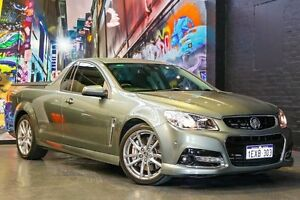 2014 Holden Ute VF MY14 SS V Ute Redline Prussian Steel 6 Speed Manual Utility Northbridge Perth City Area Preview