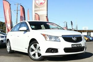 2013 Holden Cruze JH Series II MY13 Equipe White 6 Speed Sports Automatic Sedan Liverpool Liverpool Area Preview