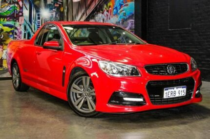 2015 Holden Ute VF MY15 SS Ute Red 6 Speed Sports Automatic Utility