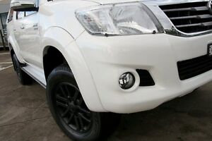 2014 Toyota Hilux KUN26R MY14 SR5 (4x4) White 5 Speed Automatic Dual Cab Pick-up Dee Why Manly Area Preview