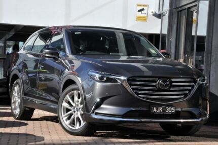 2016 Mazda CX-9 TC Azami SKYACTIV-Drive i-ACTIV AWD Machine Grey 6 Speed Sports Automatic Wagon