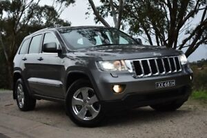 2012 Jeep Grand Cherokee WK MY2012 Laredo Mineral Grey 5 Speed Sports Automatic Wagon St Marys Mitcham Area Preview