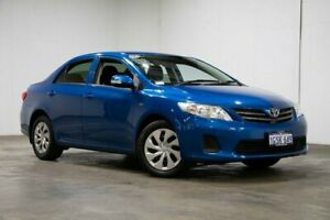 2013 Toyota Corolla ZRE152R Ascent Blue 4 Speed Automatic Sedan Welshpool Canning Area Preview