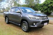 2016 Toyota Hilux GUN126R SR5 Double Cab Grey 6 Speed Sports Automatic Utility Ormeau Gold Coast North Preview