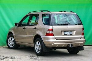2003 Mercedes-Benz ML350 W163 MY04 Classic Gold 5 Speed Sports Automatic Wagon Ringwood East Maroondah Area Preview