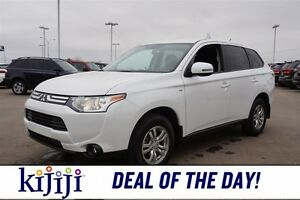 2014 Mitsubishi Outlander AWC HEATED SEATS Heated Seats,  A/C,