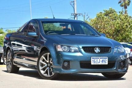 2011 Holden Commodore VE II SS-V Blue 6 Speed Automatic Utility