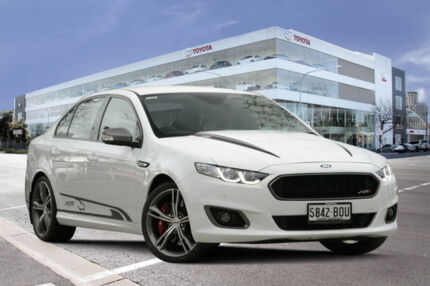 2015 Ford Falcon FG X XR8 Winter White 6 Speed Sports Automatic Sedan Adelaide CBD Adelaide City Preview