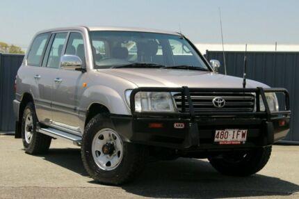 2003 Toyota Landcruiser UZJ100R GXL Brown 5 Speed Automatic Wagon Slacks Creek Logan Area Preview