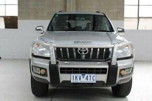 2008 Toyota Landcruiser Prado KDJ120R GXL Silver Automatic Wagon