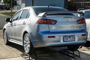 2008 Mitsubishi Lancer CJ MY08 VR-X Silver 6 Speed Constant Variable Sedan Lake Wendouree Ballarat City Preview