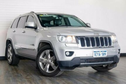 2013 Jeep Grand Cherokee WK MY2013 Limited Silver 5 Speed Sports Automatic Wagon