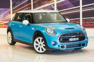 2014 Mini Hatch F55 Cooper S Blue 6 Speed Sports Automatic Hatchback Blacktown Blacktown Area Preview
