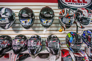 Lots of Brand New Motorcycle Helmets In Stock - Low Prices!
