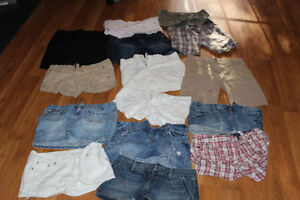 Size 8 Shorts and Skirts 15 piece Lot (AE,GAP,CK)